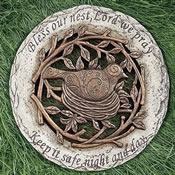 Bless Our Nest Inspirational Garden Stone