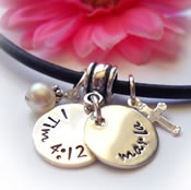 Personalized Confirmation Jewelry for Girls