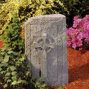Celtic Cross Garden Totem for Sympathy Gift