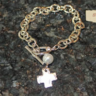 Christian Cross Bracelet
