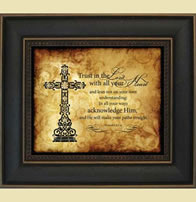 trust in the Lord Christian Wall Hanging