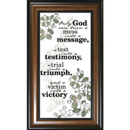 Only God - Framed Christian Wall Art