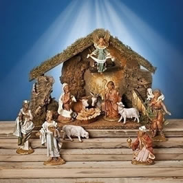 Christian Christmas Decor - Nativity