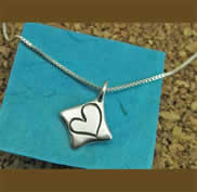 Heart full of Love Sterling Pendant