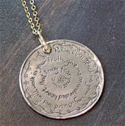 Psalm 86:11 Scrpiture Christian Necklace