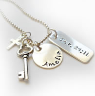 Personalized Necklace with Jeremiah 29:11