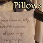 Scripture Pillows for the Home
