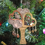 Metal Tree of Life Ornament