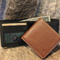 Cross Embossed Wallet for Dad