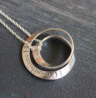 First Corinthians Double Mobius Necklace