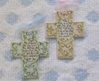 Train up a Child Ceramic Cross