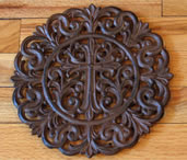 Cast Iron Cross Trivet