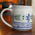 Scripture Pottery Small Mug