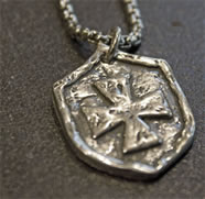The Protector's Shield Pendant for Him