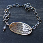 Scripture Message Bracelet