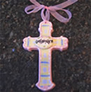 Confirmation Pink Wall Cross