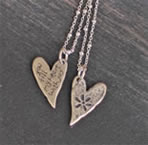 Sterling Silver Fill my heart with joy Necklace