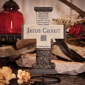 Jesus Christi is the Foundation Wall Cross