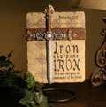 Iron Sharpens Iron Gift for Dad