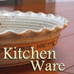 Scripture Pottery and Inspirational Kitchen Decor