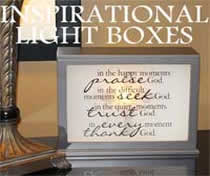 Jada Venia Inspirational Light Boxes