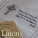 Scripture Embroidered Linens