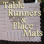 Embroidered Scripture Table Runners