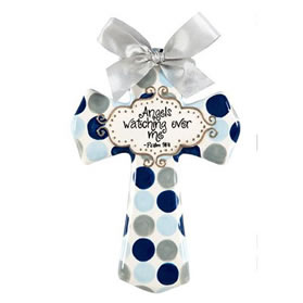 Baby Christening Wall Cross