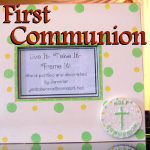 1st Holy Communion Gift Ideas