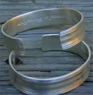 Sterling Silver Cuff Bracelet for Men