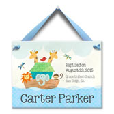 Personalized Baby Baptism Plates and Tiles | Personalized Baby Tiles ...