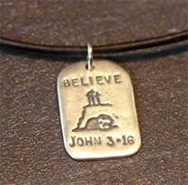 God Tag - Believe - Christian Gifts