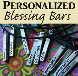 Personalized Blessing Bar Necklaces