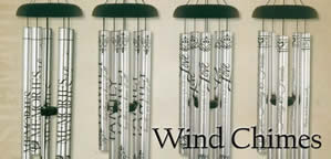 Wind Chimes with Scripture