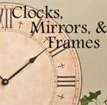 Christian Clocks, Mirrors & Frames