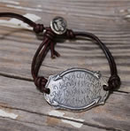 She is clothed with dignity and strength bracelet for Mom