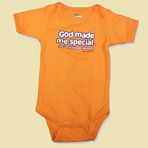 'God Made Me Special' Little Disciples Onesie