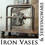 Cross Iron Home Accents