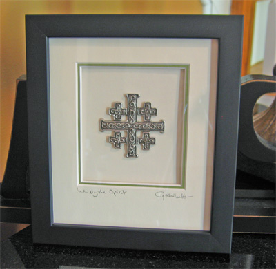 Cynthia Webb Pewter Pewter Wall Art Pewter Blessing