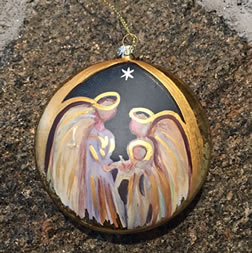 Christian Christmas Decor - Nativity Ornament