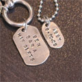 Personalized God Tags