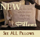 Scripture Pillows & Christian Decorative Pillows