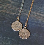 Scripture Medallion for Confirmation