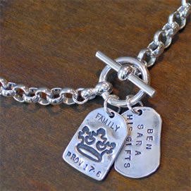 God Tags by Visible Faith Jewelry