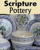 Scripture Pottery for the Christian Home
