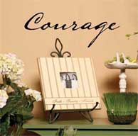 Courage Wall Praise