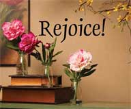 Rejoice Wall Art
