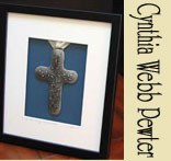 Pewter Crosses and Wall Hangings by Cynthia Webb