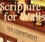 Christian Home Decor - Scripture Wall Vinyls